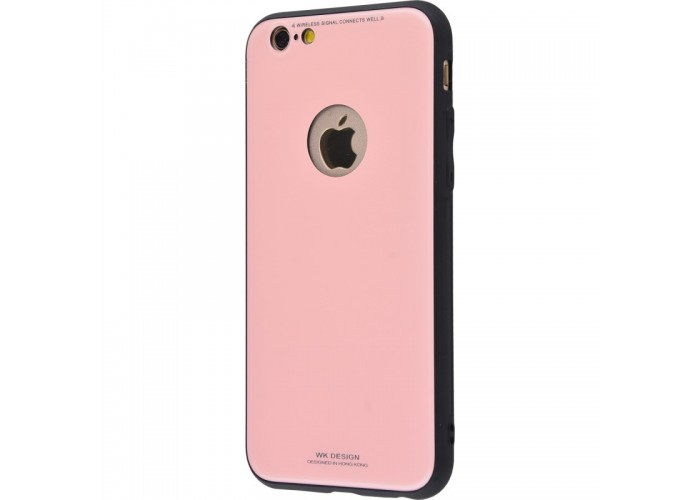 Чехол для iPhone 6/6s White Knight Pictures Glass pink (розовый)