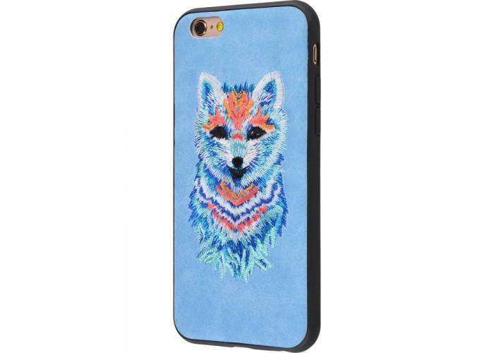 Чехол для iPhone 6/6s Embroider Animals Soft песец