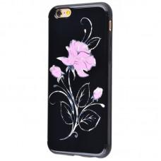 Чехол для iPhone 6/6s Glossy Rose розовый