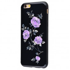 Чехол для iPhone 6/6s Glossy Rose фиолетовый