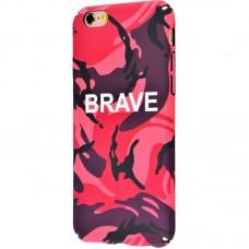 Чехол для iPhone 6/6s Ibasi & Coer Brave красный