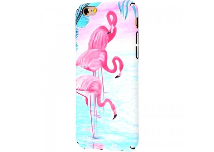 Чехол для iPhone 6/6s Ibasi & Coer фламинго