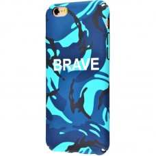 Чехол для iPhone 6/6s Ibasi & Coer Brave голубой