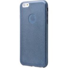 Чехол для iPhone 6/6s Shining Glitter Case с блестками синий