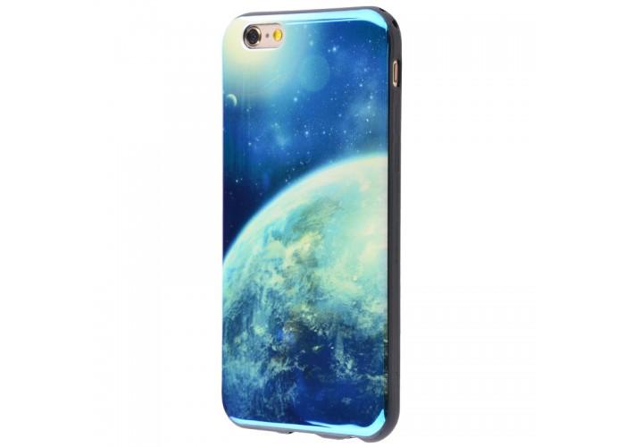 Чехол для iPhone 6/6s перламутр планета