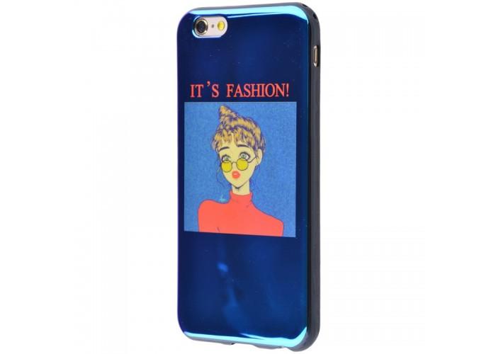 Чехол для iPhone 6/6s перламутр fashion