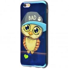 Чехол для iPhone 6/6s перламутр сова