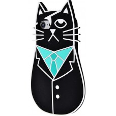 Чехол для iPhone 6/6s Cybercat черный