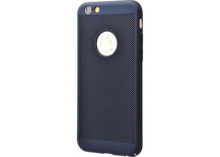 Чехол для iPhone 6/6s Perfo Soft Touch черный