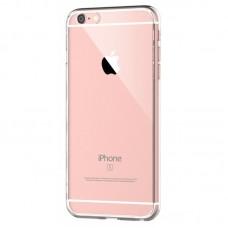 Силиконовый чехол с защитой камеры для iPhone 6/6s прозрачный