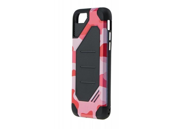 Чехол для iPhone 7/8 Motomo (Military) красный
