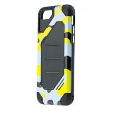 Чехол для iPhone 7/8 Motomo (Military) желтый
