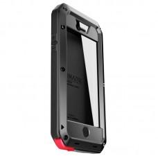 Чехол для iPhone 7/8 Lunatik Taktik Metal Extreme противоударный черный