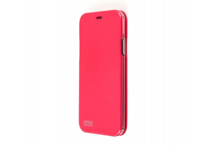 Чехол-книжка для iPhone X Molan Cano Capsule Flip Hard красный