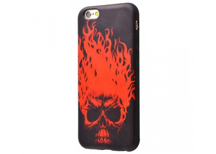Чехол для iPhone 6/6s Termo Case череп