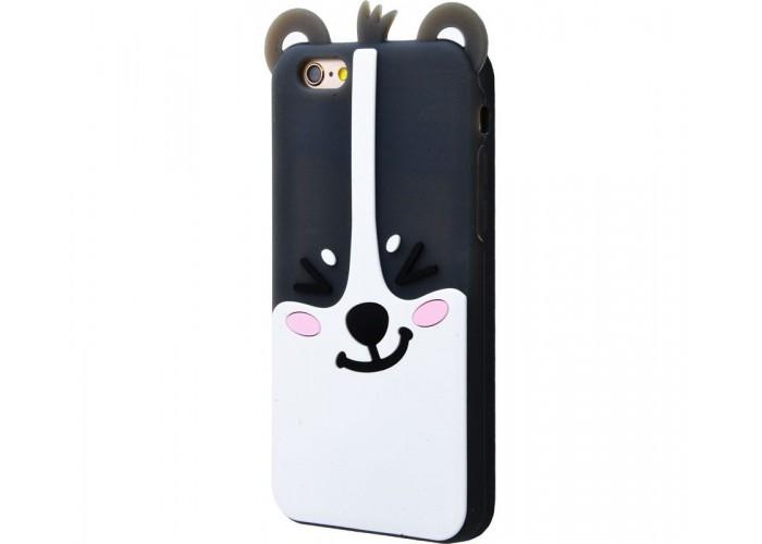 Чехол для iPhone 6/6s Zoo Look черный