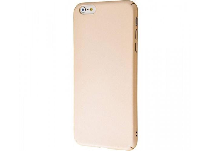 Чехол для iPhone 6 Plus/6s Plus PC Soft Touch Case золотой