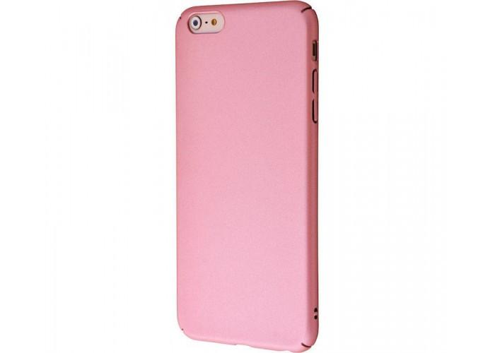 Чехол для iPhone 6 Plus/6s Plus PC Soft Touch Case розовый