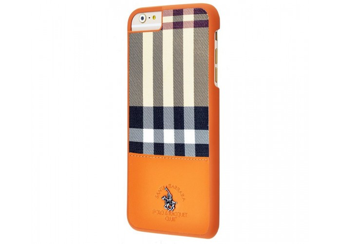Чехол для iPhone 6 Plus/6s Plus POLO Knight (Leather) коричневый