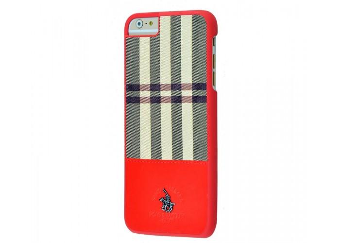 Чехол для iPhone 6 Plus/6s Plus POLO Knight (Leather) красный