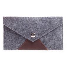 Войлочный чехол-конверт Gmakin для iPhone 6 Plus/6s Plus/7 Plus/8 Plus светлый