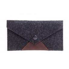 Войлочный чехол-конверт Gmakin для iPhone 6/6s/7/8/X/Xs темный