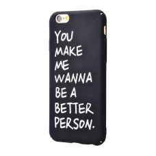 Чехол для iPhone 6/6s Daring Case you make me черный