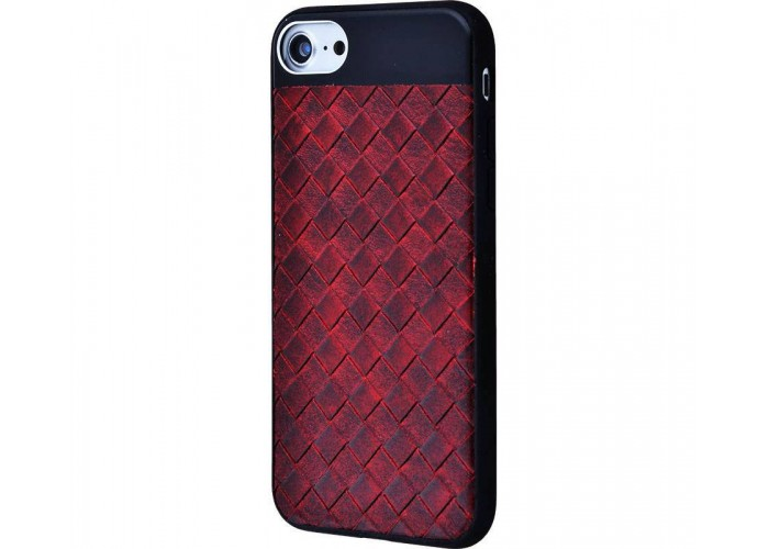 Чехол для iPhone 6/6s Leather Design Case бордовый