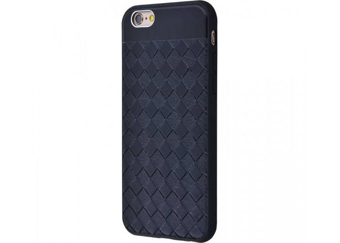 Чехол для iPhone 6/6s Leather Design Case черный