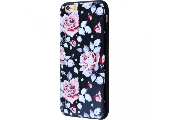 Чехол для iPhone 6/6s Glossy Flowers №13