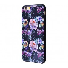 Чехол для iPhone 6/6s Glossy Flowers №14