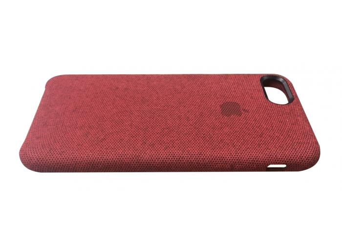 Тканевый чехол для iPhone 7/8 Hiha Canvas Pattern Case красный