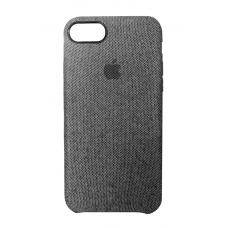 Тканевый чехол для iPhone 7/8 Hiha Canvas Pattern Case серый