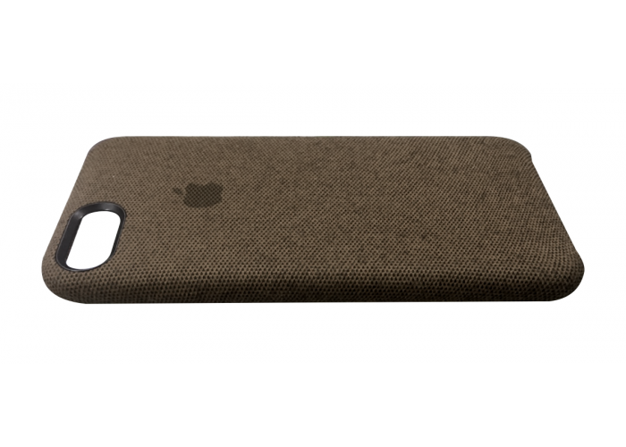 Тканевый чехол для iPhone 7/8 Hiha Canvas Pattern Case коричневый