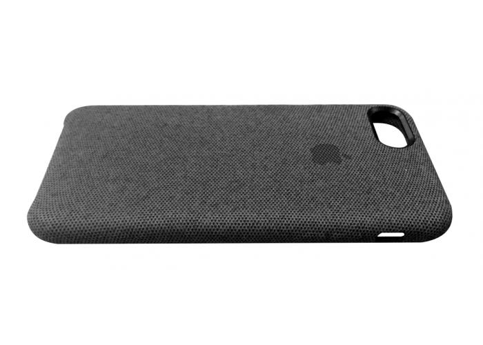 Тканевый чехол для iPhone 7/8 Hiha Canvas Pattern Case черный
