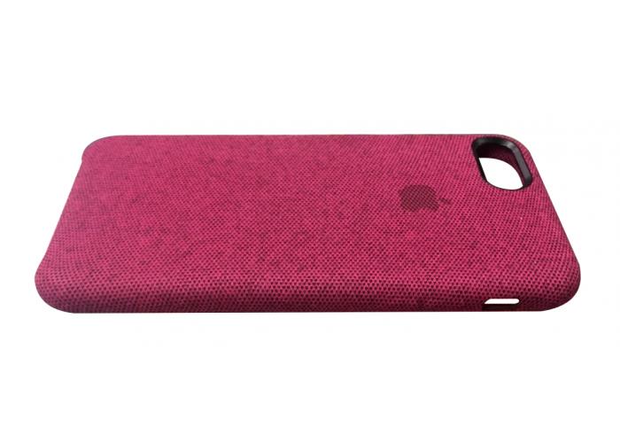 Тканевый чехол для iPhone 7/8 Hiha Canvas Pattern Case розовый