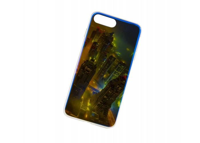 Чехол для iPhone 7/8 перламутр город
