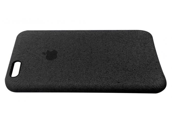 Тканевый чехол для iPhone 6/6s Hiha Canvas Pattern Case черный