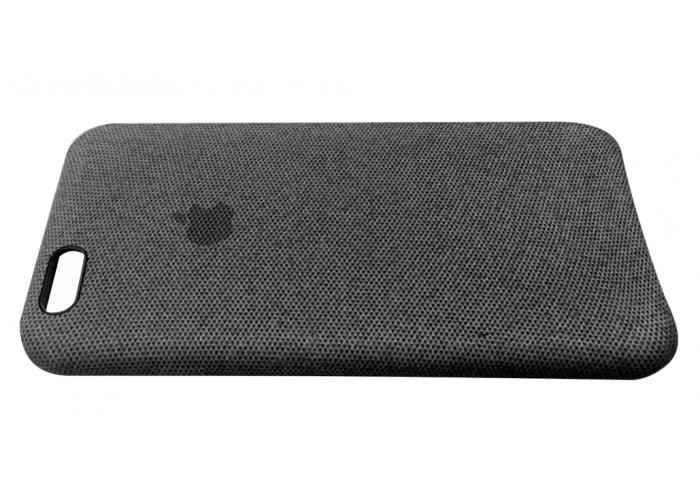 Тканевый чехол для iPhone 6/6s Hiha Canvas Pattern Case темно-серый