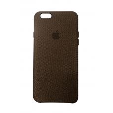 Тканевый чехол для iPhone 6/6s Hiha Canvas Pattern Case коричневый