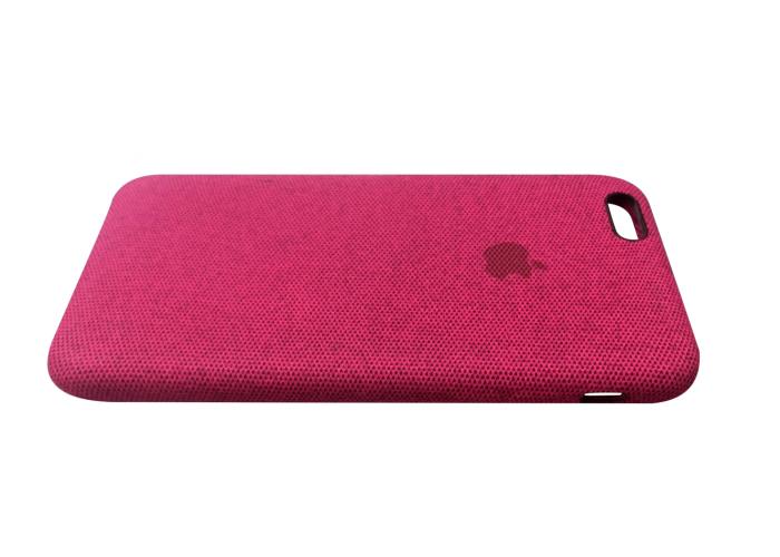 Тканевый чехол для iPhone 6/6s Hiha Canvas Pattern Case розовый