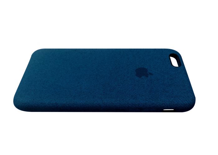 Тканевый чехол для iPhone 6/6s Hiha Canvas Pattern Case синий