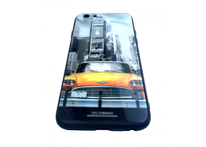 Чехол для iPhone 6/6s White Knight Pictures Glass New York