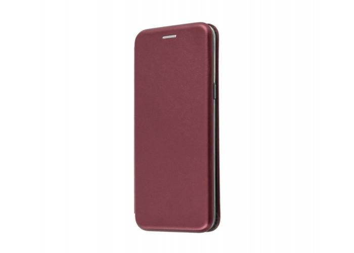 Чехол-книжка для iPhone 7/8 Premium вишневый
