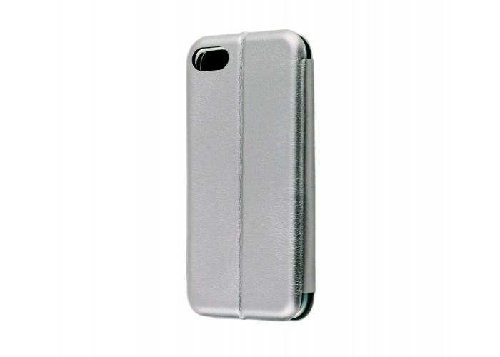 Чехол-книжка для iPhone 7/8 Premium серый