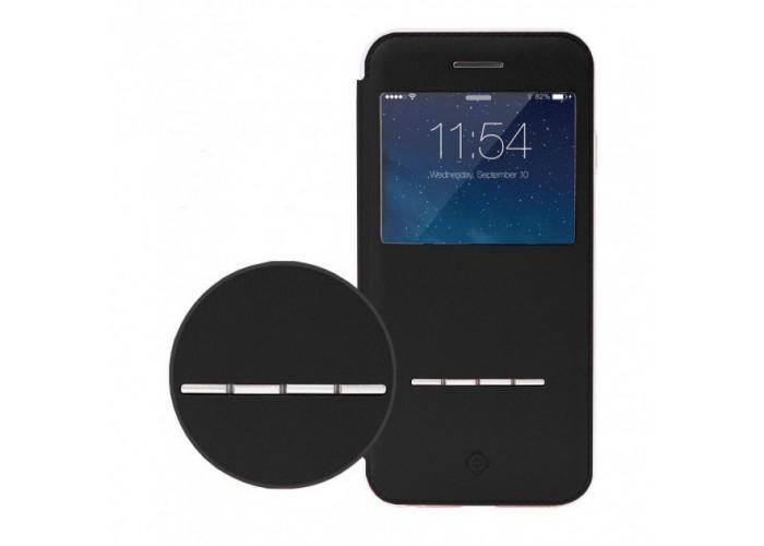 Чехол-книжка для iPhone 7/8 Totu Leather Case Touch Series черный