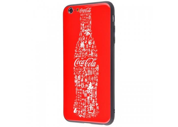 Чехол для iPhone 6/6s White Knight Pictures Glass coca cola