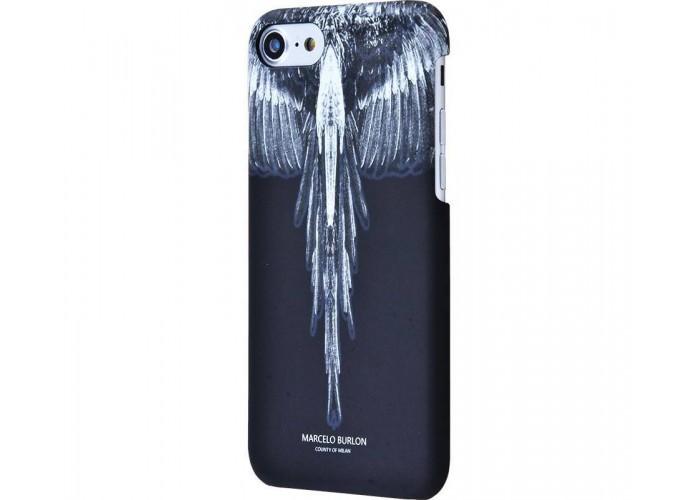 Чехол для iPhone 7/8 Marcelo Burlon Soft Touch №15