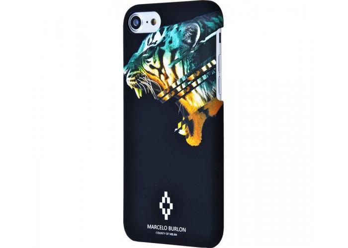 Чехол для iPhone 7/8 Marcelo Burlon Soft Touch №12