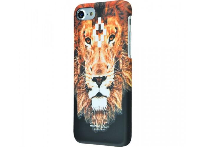 Чехол для iPhone 7/8 Marcelo Burlon Soft Touch №1